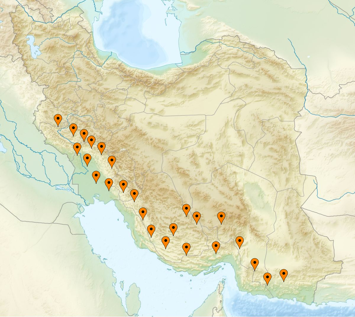 Persian Sidr map
